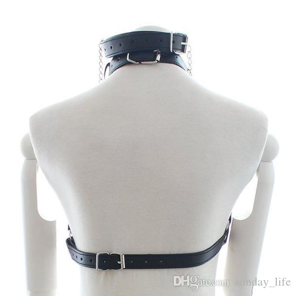 !!!PU Leather Bondage Restraints O Ring Gag Nipple Clamps Slave Collar Fetish Erotic Adult Games Sex toys for Couples