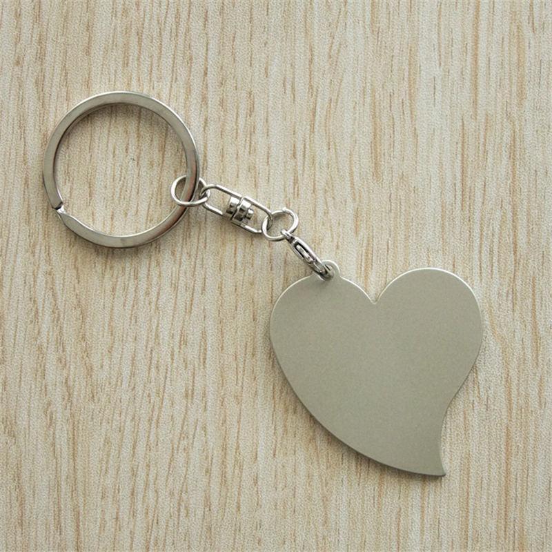 Sublime kalp yıldız anahtarlık takı için boş demir anahtarlıklar ısı transfer baskı DIY hediye için 9 stilleri özelleştirebilirsiniz tasarım