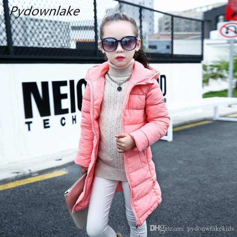 a9846a16be74b Acheter 2018 Mode Fille Hiver Coton Vestes Manteaux Chaud Bébé Fille 100% Coton  Épais Enfants Veste Enfants Manteaux Pour L hiver Froid De  19.02 Du ...