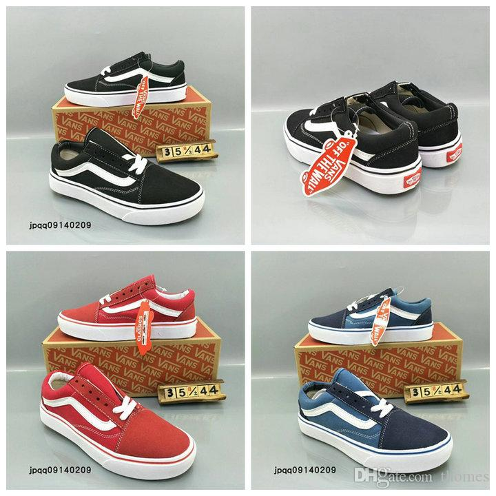 8aeb734217 2018 Classic Old Skool Low Cut Casual Canvas Shoes Classical Black White  Brand Women And Mens Sneakers Skateboarding Shoes 36 44 Shoe Boots Fashion  Shoes ...