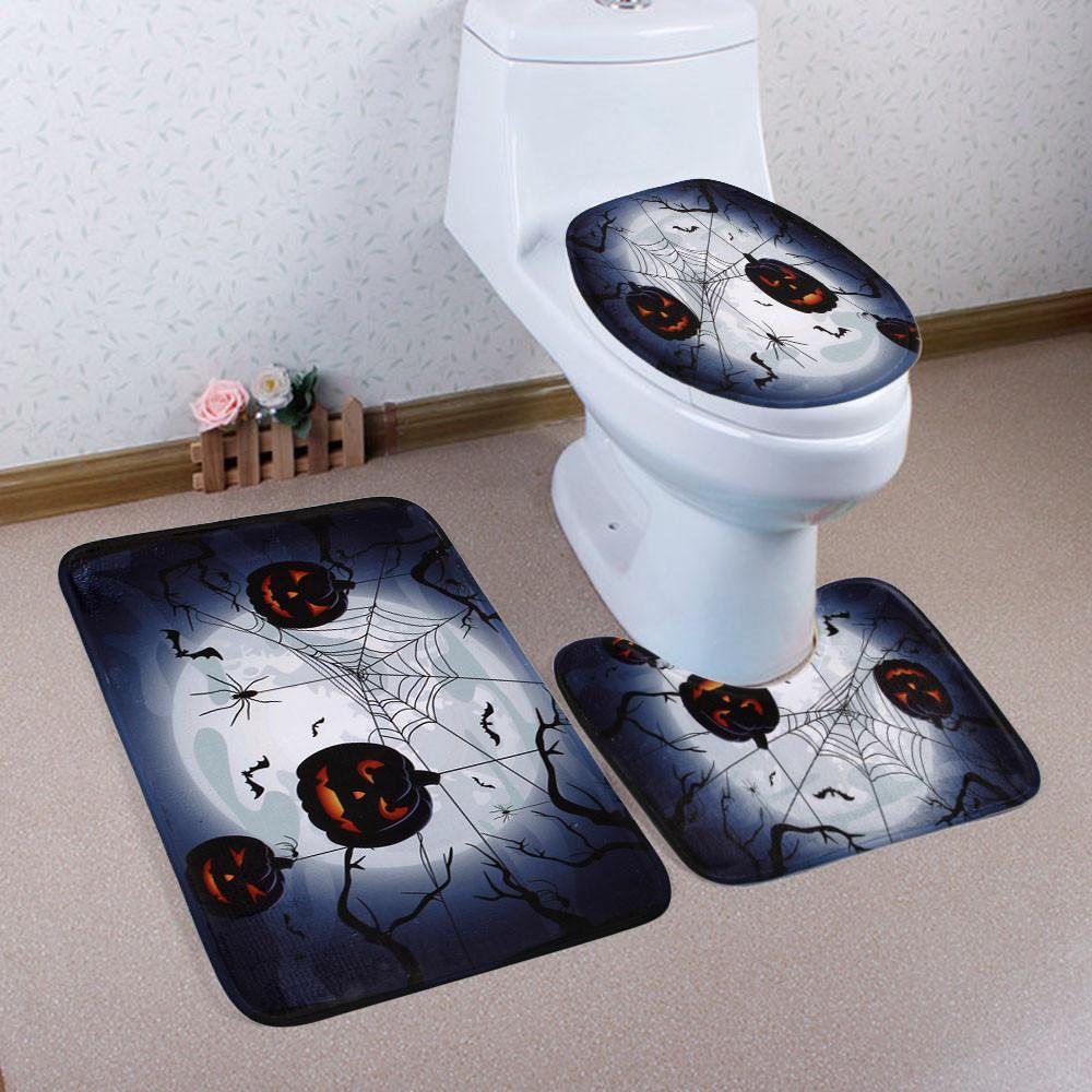 Living Room Carpet Rug Dining Bedroom Floor Mat Lid Toilet Cover Bath Anti Skid Mats Tapete Para Quarto Commercial Flooring Installation