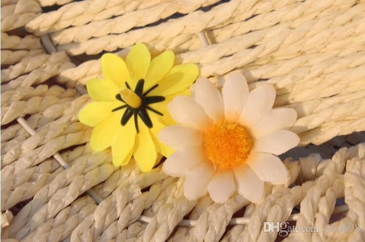 Fiori artificiali speciali fiori di seta Gerbera fiore testa fiore palla fiore archi floreali Girasole GA68