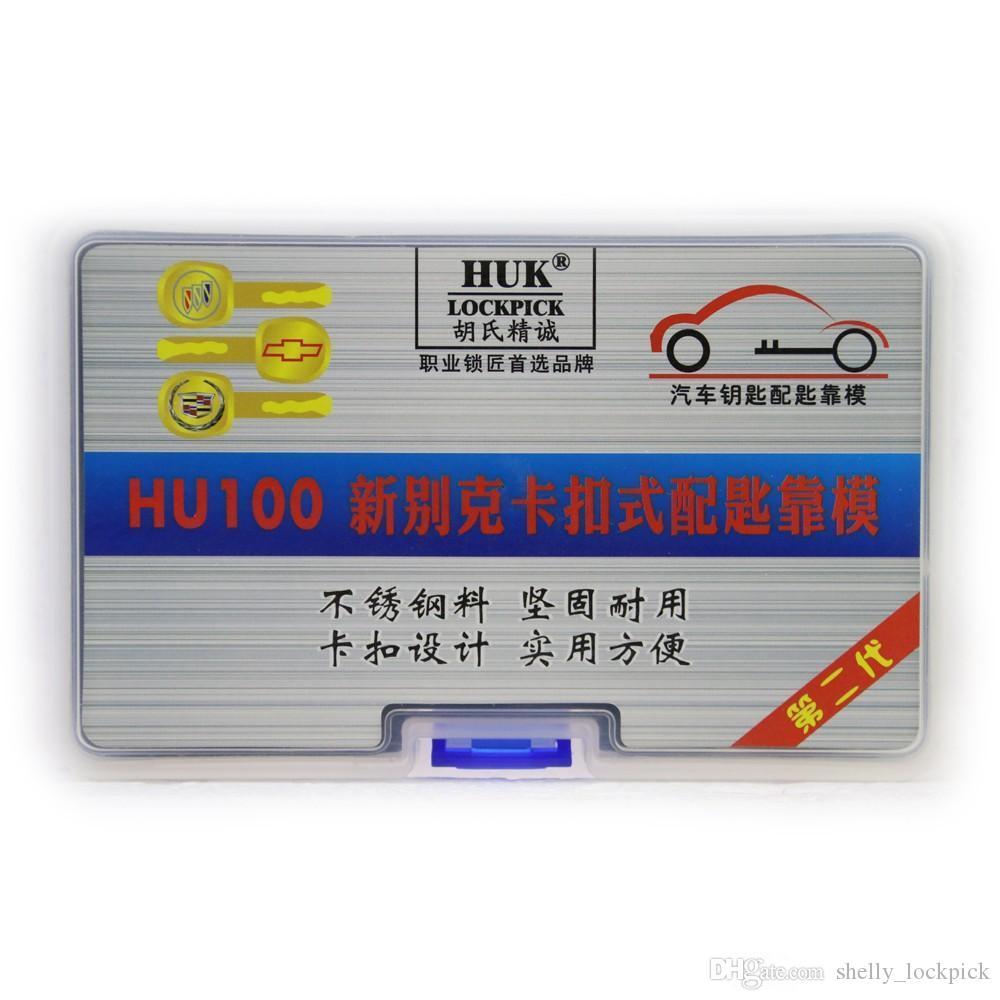 Hohe qualität original huk hu100 schlosser werkzeug autoschlüssel form für neue buick autoschlüssel duplizieren schlosser liefert