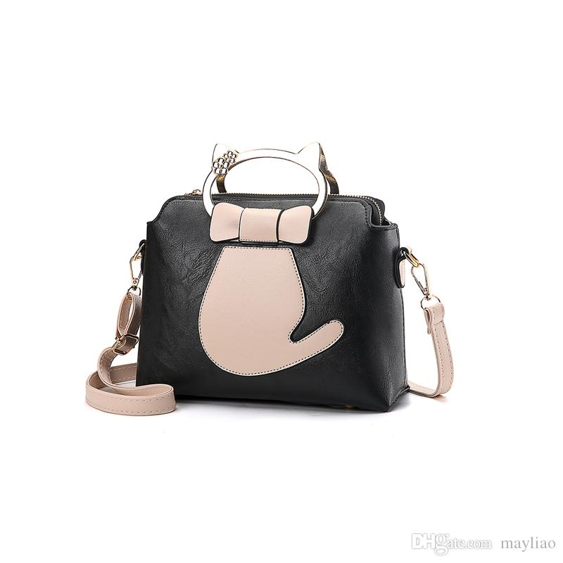 57be330caac 2018 Korea Fashion Crossbody Bags For Women Cute Party Purse Clutch  Messenger Bags Handbags Female Casual Small Business Work Shoulder Bag  Leather Purses ...