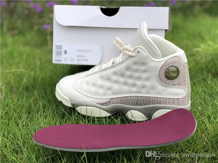 timeless design 92911 96c26 Breathable Women Newest 13s 2018 Limited Retro Phantom Rose Gold Athletic  Shoes Free Shipping with Original Box Authentic Real Quality