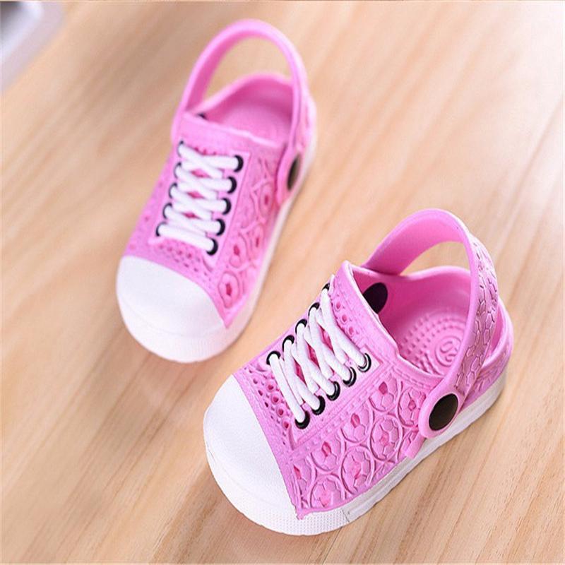 375461c39010b 2018 Unisex Children Beach Slippers Kids Unisex Baby Boys Clogs Shoes Girls  Sandals Garden Slippers Drag For 1 5 Years Princess Slippers Boys Size 2 ...
