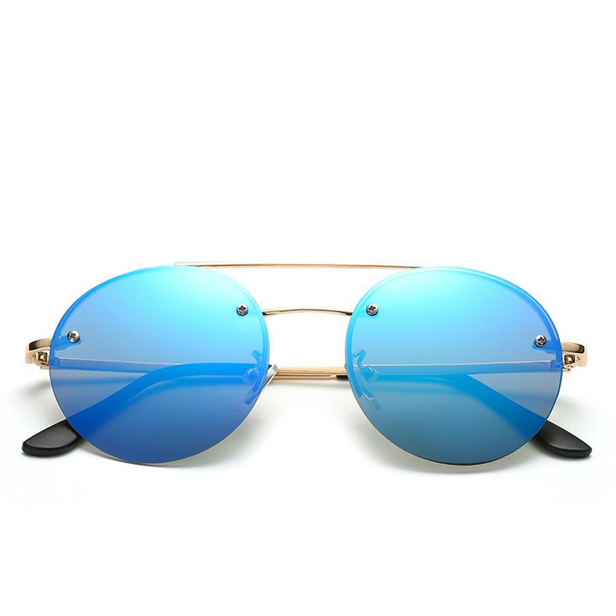 c56d68ddc Compre Óculos De Sol Sem Aro Oculos De Sol Redondo Óculos Redondos Óculos  De Sol Redondos Mulheres Motorista Óculos Para Homens Óculos De Sol Oculos  ...