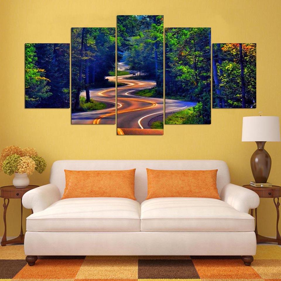 2018 Wall Art Frame Canvas Pictures Modern Hd Printed Natural Beauty ...