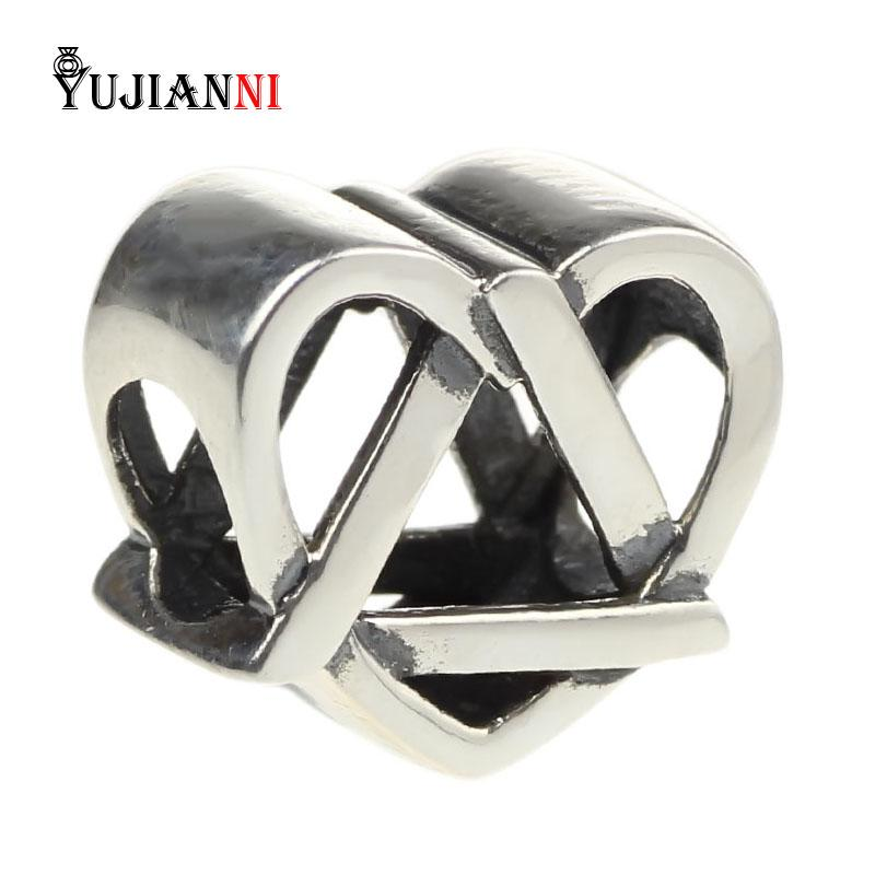 2018 925 Sterling Silver Reflections Adoption Symbol Beads For