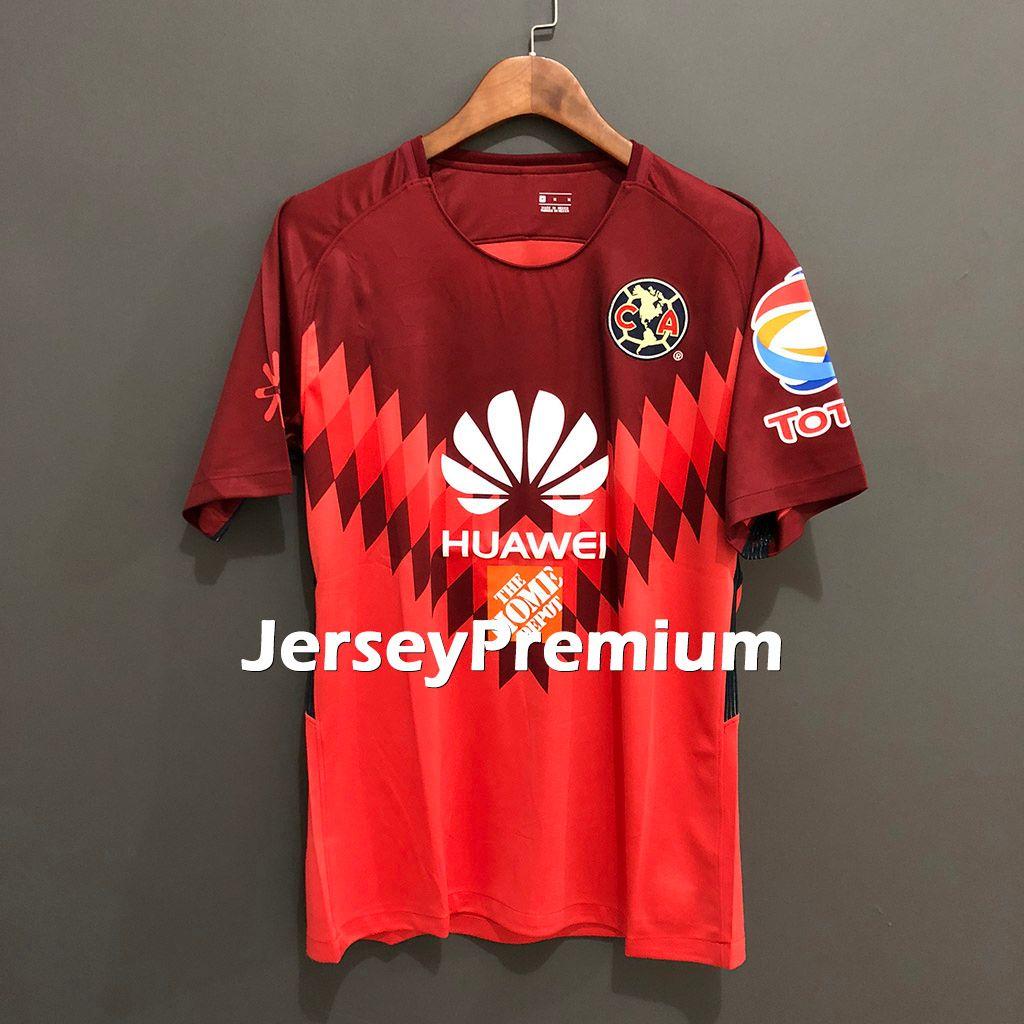 016ca6570 2019 Club America Goalkeeper Football Soccer Jerseys Wine Red Pink Shirt  Agustín Marchesín From Jerseypremium