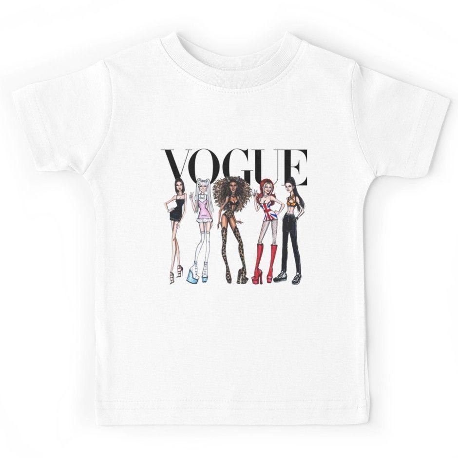 7d2f25087 Vogue Spice Girls Youth T Shirt Tees Clothing Graphic Tee Shirts T Shirt  Sayings From Linnan007, $14.67| DHgate.Com