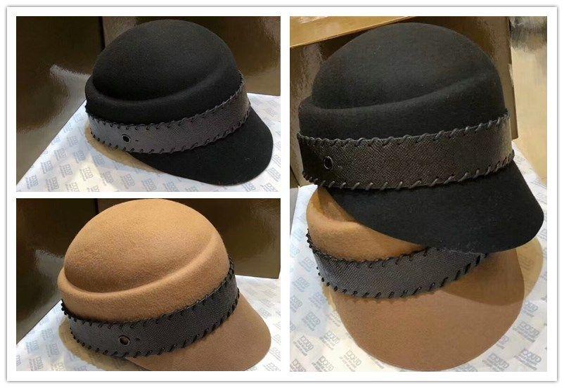 d1d736913e0 2018 New Arrival Luxury Women Hat G Designer Cashmere Cloches Top ...