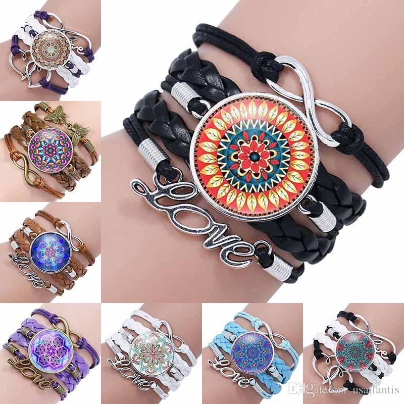 rose bracelets heart bracelet in mandala medium jewellery chlobo