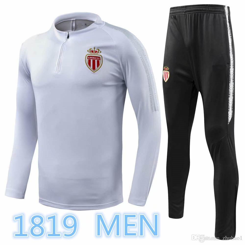 6755bd49409 1819 France Monaco Falcao Football Jersey 2018 Thierry Henry Men's ...