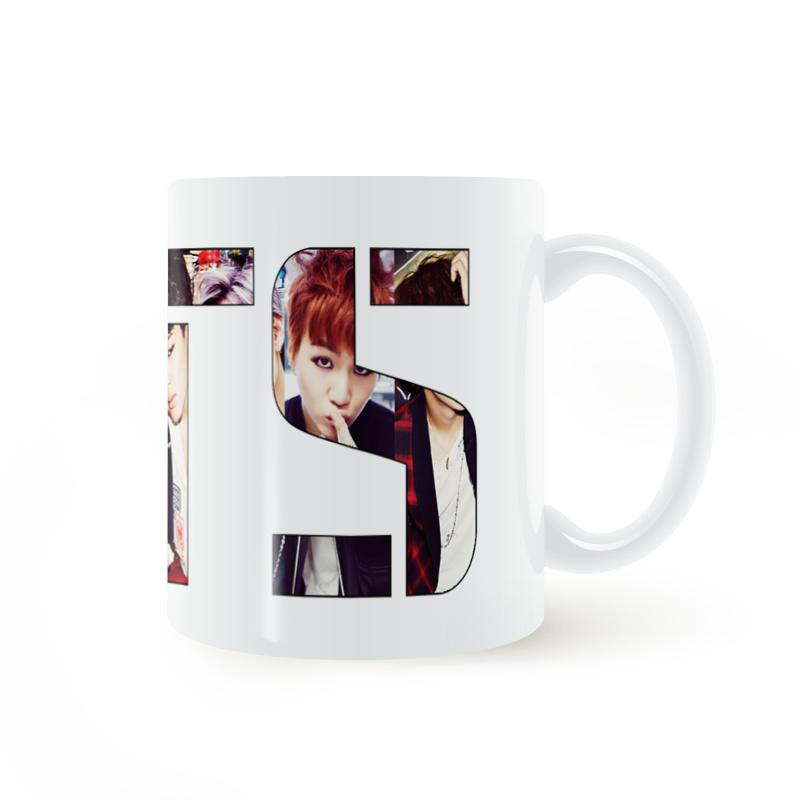 Bts Kpop Mug Coffee Milk Ceramic Cup Creative Diy Gifts Home Decor Mugs 11oz T1020