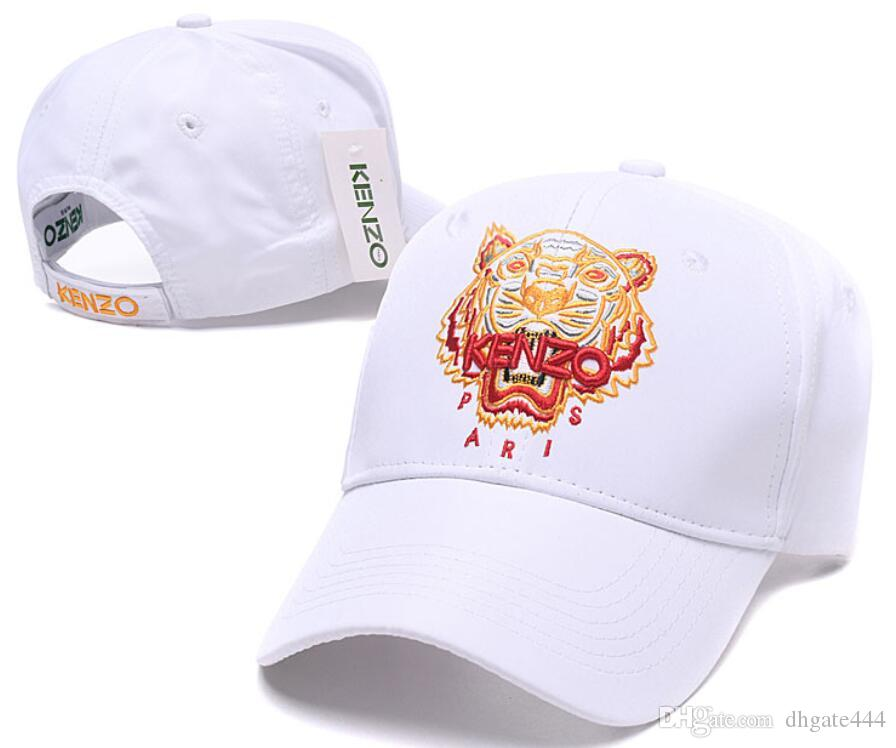2019 Designer European American Brand Paris Tiger Head Cap Kenz Hat  Baseball Cap Embroidered Bone Men Women Casquette Sun Gorras Fashion Cap  007 From ... 6c6d4d6f9d1