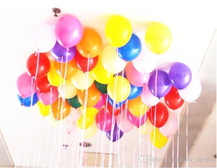 2.2 그램 장식 풍선 15 색 풍선 웨딩 장식 공기 공 생일 파티 용품 풍선 아이 장난감