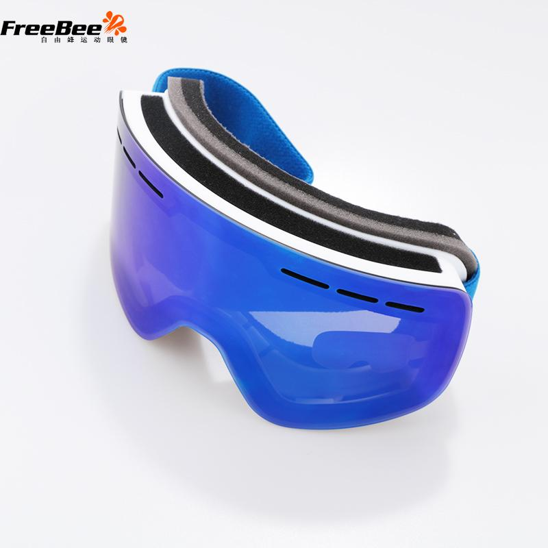 e84286192830 2019 Ski Goggles Double Len Anti Fog UV400 Snow Skiing Glasses Big Lens  Snowboard Snow Eyewear Ski Glasses Mask Goggle From Kuaigoubian
