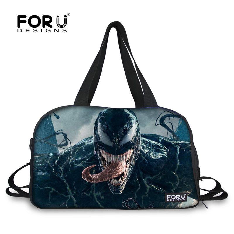 2019 FORUDESIGNS Venom 3D Film Printed Sport Bag For Men Fitness Yoga Mat  Shoulder Bags Large Capacity Tote Bag Outdoor Male Handbag From  Mangosteeng a83ca78608b1e