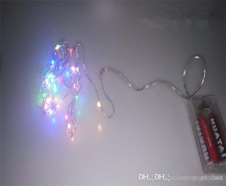 Ballons à LED Night Light Up Jouets clair ballon 3M String Lights Flasher transparent balles de la vague d'éclairage Helium Balloons partie