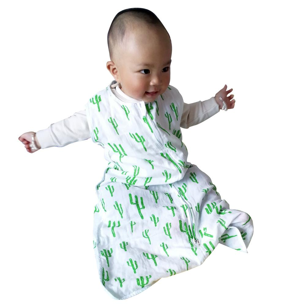 d26f99cf4 Wholesale- AINAAN SleepSack 100% Cotton Muslin Sleepsack Swaddle And ...