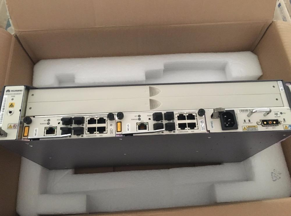 19 inch mini OLT MA5608T Huawei original GPON/EPON OLT,AC/DC Optical Line  Terminal, 2U height, MCUD