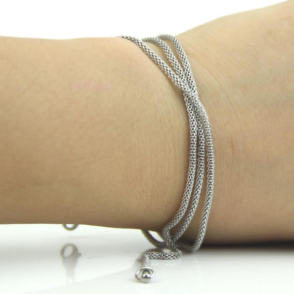 925 Sterling Silver 1.9mm 2.4mm 3.2mm Unisex Titanium Steel Snake Chain Stainless Steel Necklace For Snake Chain