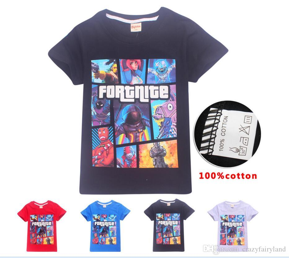 2a0775ea Kids 3D Fortnite Tee Tops Children Summer Clothes 13 Styles Boy Short  Sleeve T-shirt Girls T Shirts Clothing For Baby Costume Kids Shirts Girls  Kids Clothes ...