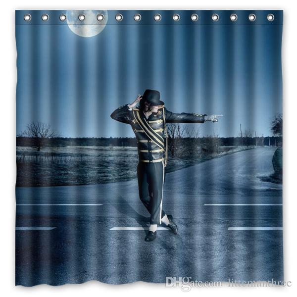 2019 Michael Jackson 01 Design Shower Curtain Size 180 X Cm Custom Waterproof Polyester Fabric Bath Curtains From Littemanthree, $25.13 | DHgate.