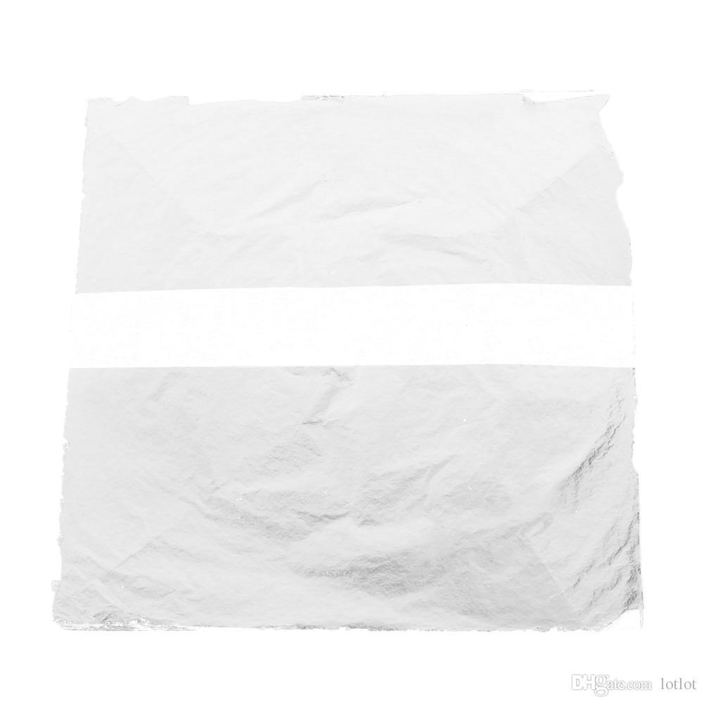 ofício de papel Imitação De Ouro Lasca De Cobre Folhas De Folhas Folhas Folha De Papel Artesanato para Decoração Artesanato Ouro 14x14 cm