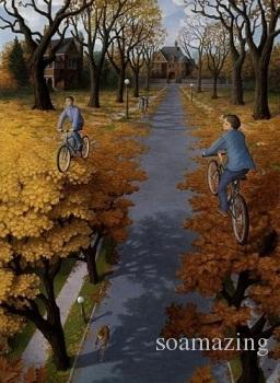 Framed ROB GONSALVES - Hojas,Amazing Quality Famous Art Oil Painting Canvas Multi Sizes RG006