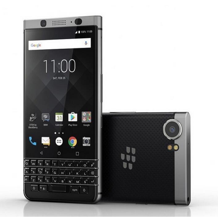 تم تجديده الأصلي BlackBerry Keyone Unlockde الهاتف الخليوي Octa Core RAM 3GB ROM 32GB 12MP واحد SIM 4G LTE