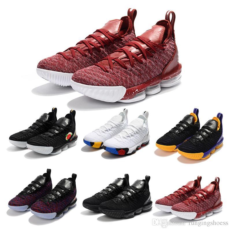 f6eab6d33c7e James 16 THRU 5 CNY Black White Gold Men Basketball Shoes James 16s China  Red Mens Trainer Sports Designer Sneakers 40-46 Men Basketball Shoes  Wholesale ...