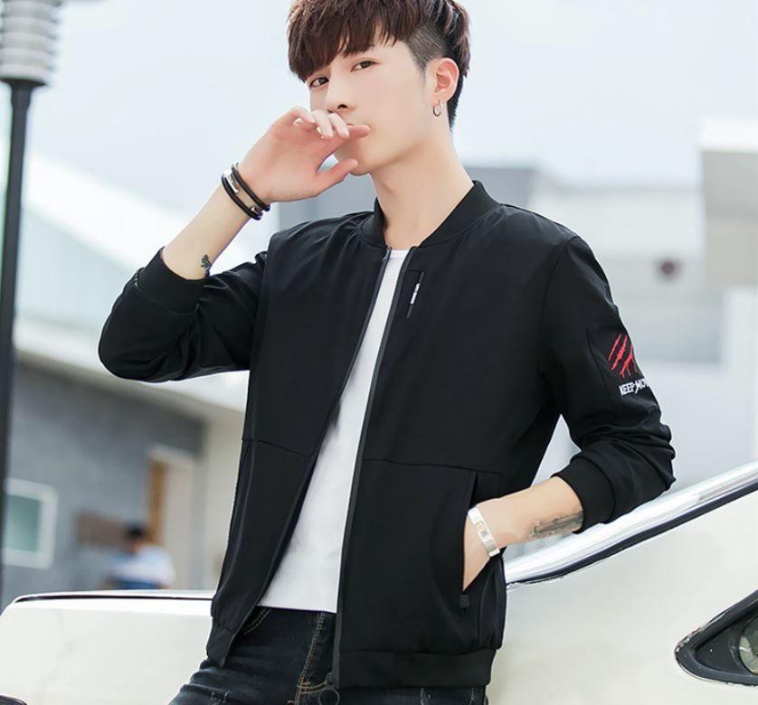a0ffea784 Men's Coat Spring And Autumn 2018 New Korean Version Trend Slim ...