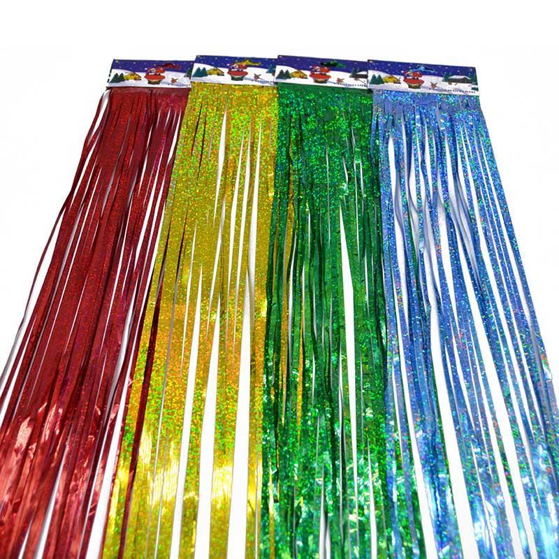 10 * 100 см мишура бахрома блеск занавес двери дождь главная комната свадьба декор этап фон фото реквизит поставки