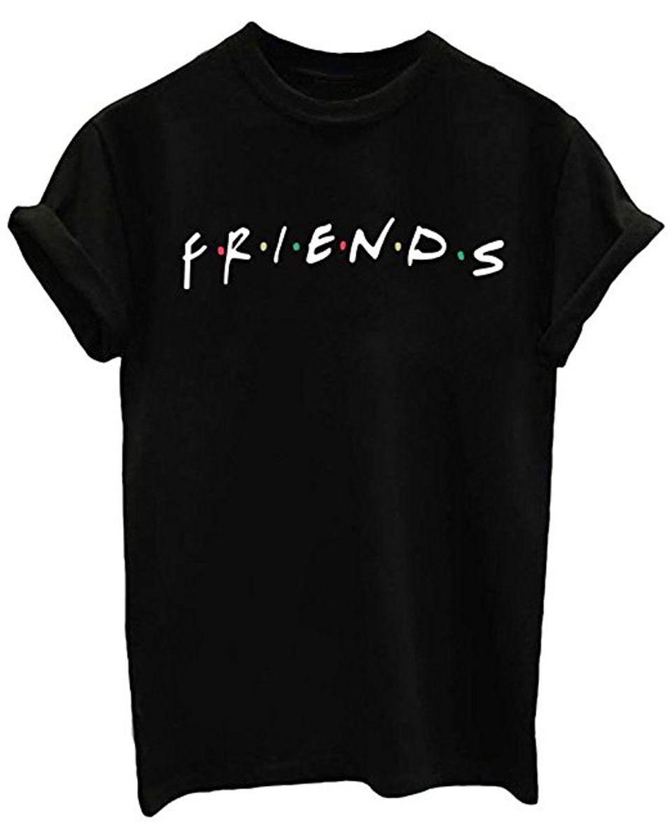 Missactiver Friends Tv Show Unisex Women S Cute T Shirt Junior Tops