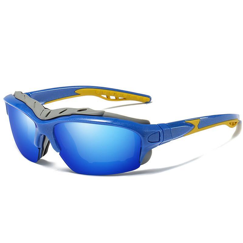 1bd6db324e Gafas De Sol Polarizadas Para Ciclismo Deportes Al Aire Libre Gafas De Sol  UV400 Con Protección A Prueba De Viento Y Arena Ciclismo Equitación Gafas  Para ...