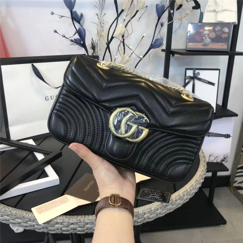 56fad1926e Hot Marmont Shoulder Bags Women Luxury Chain Crossbody Bag Handbags Famous  Designer Shoulder Bag High Quality Female Message Bag Mens Shoulder Bags  Shoulder ...