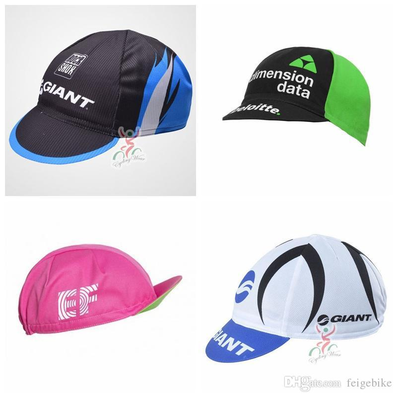 047f16680c8f2 2019 2018 DIMENSION DATA GIANT Team Men Women Cycling Caps Hat Breathable  Sun Hat Baseball Outdoor MTB Bike Bicycle Cap G1024 From Feigebike