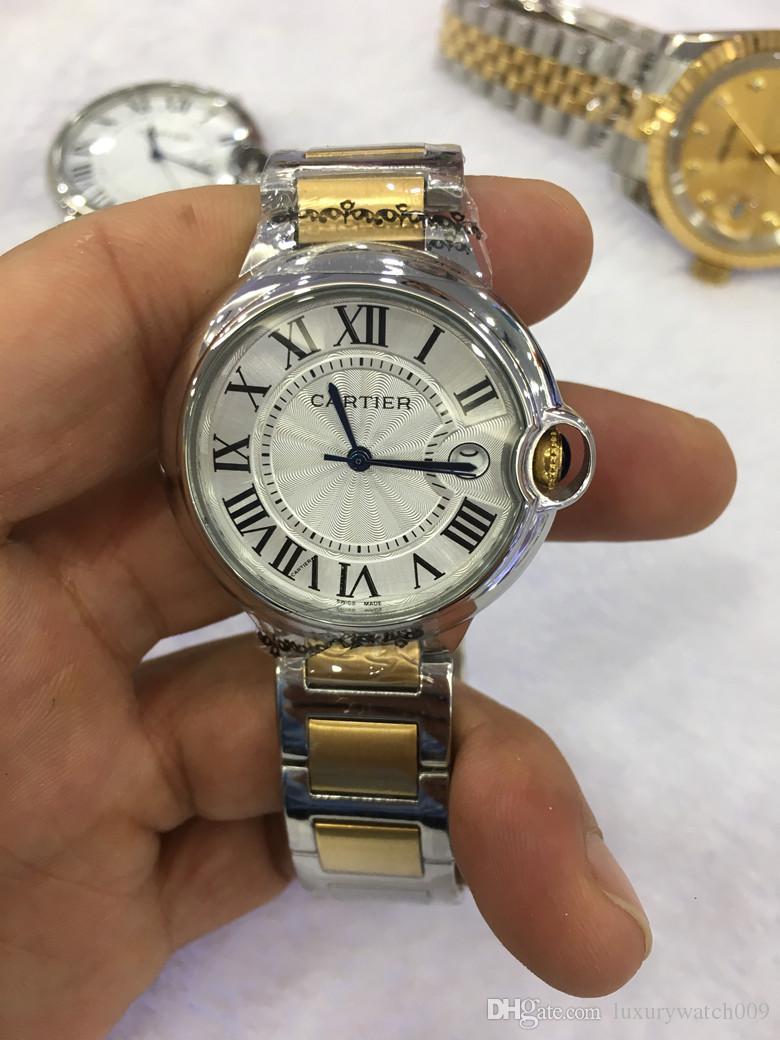 fd22410c9f4 Compre Luxo Top Marca Senhora Relógios De Moda De Ouro De Aço Inoxidável Mulheres  Relogio Feminino De Alta Qualidade De Quartzo Relógios De Pulso De ...