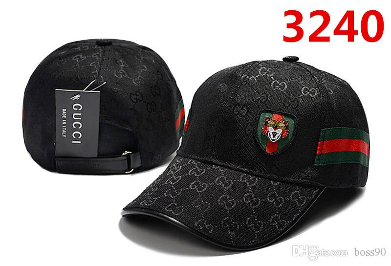 Compre 2019 Diseñador Para Hombre Gorras De Béisbol Nueva Marca Tiger Head  Sombreros Hueso Bordado Hombres Mujeres Casquette Sombrero Para El Sol  Gorras ... d2f67206784