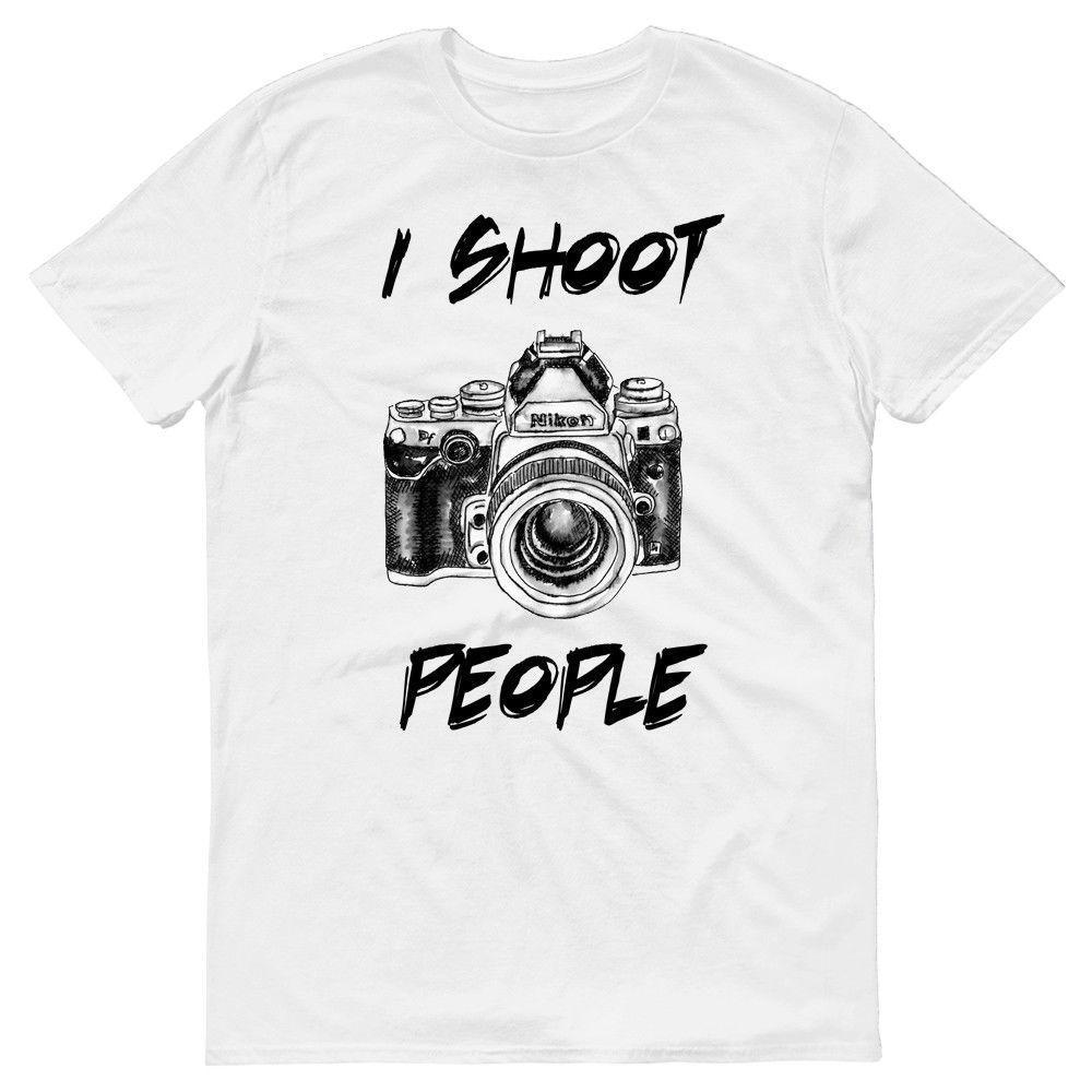 28e8ce56 I Shoot People Funny Photographer Camera Art Portrait T Shirt Gift Idea T  Shirt Novelty Tee Shirts Awesome Shirt Designs From Amesion69, $12.08|  DHgate.Com