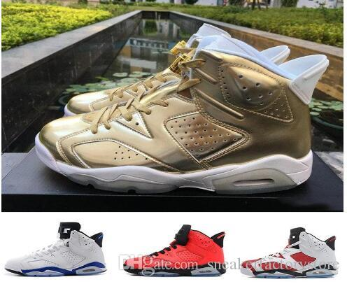 eaf17faca5648f 2018 Basketball 6 Mens Basketball Shoes Carmine Black Cat Infrared Sports  Blue Maroon Olympic Alternate Hare Oreo Chrome Angry Bull Sneakers Shoes  For Sale ...