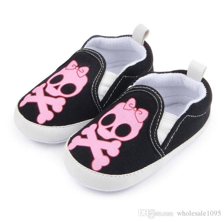 Bow Shantou baby kids girls pumpkin halloween infant shoes leather r baby shoes first walkers children canvas shoes boys sneakers