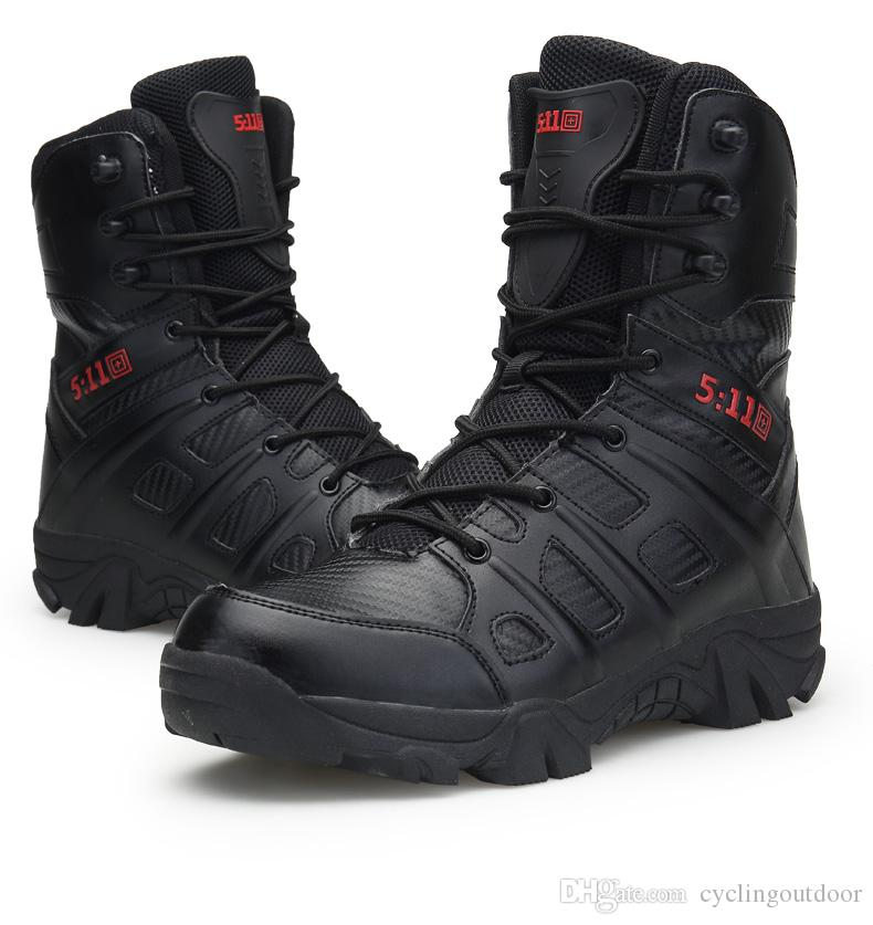 5277e4d7810 Wholesale latest outdoor army boots wear-resistant shock-absorbing hiking  shoes snow boots men s wear-resistant tactical shoes free shopping
