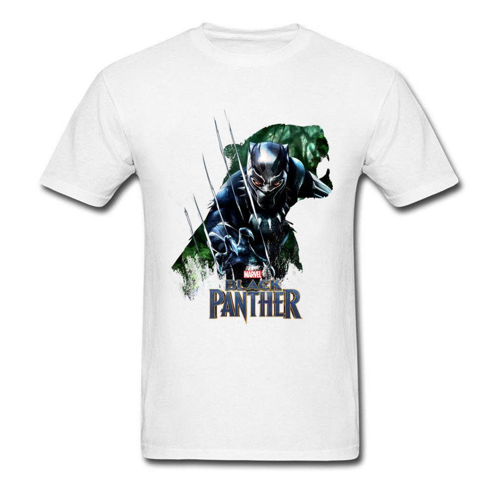 3eb28ccb2 100%NEW BLACK PANTHER Infinity War Movie Men Shirt Marvel Comic Graphic  Mens T Shirt Men 2018 New Fashion Printed Fashionable Round Amusing T Shirts  With T ...