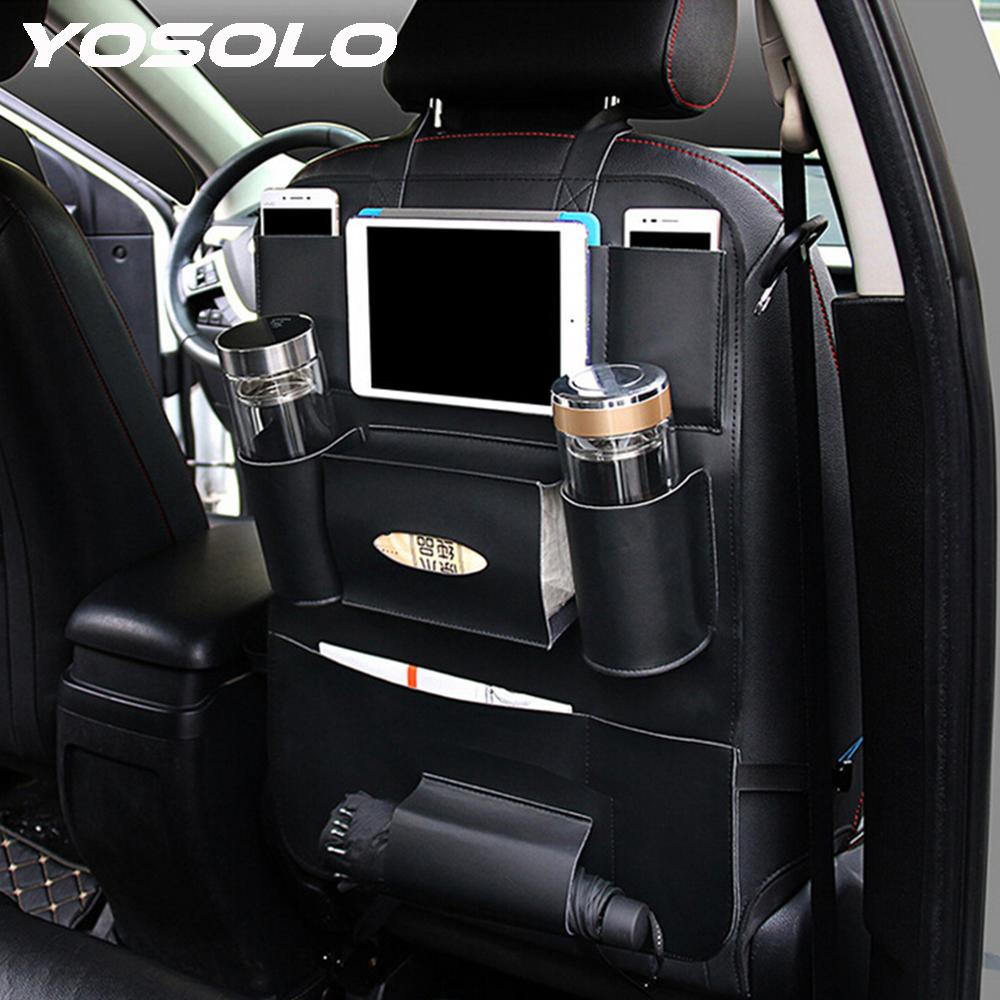 Wholesale Yosolo Car Seat Back Storage Bag Backseat Pockets ...