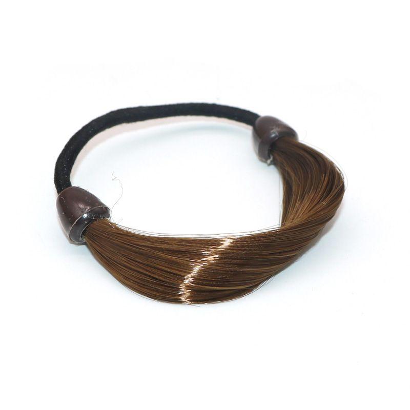 Elastische Stirnbänder Flechter Für Frauen Haar Seil Hairband Synthetische Perücke Haarbänder Gummiband Haargummis Zubehör