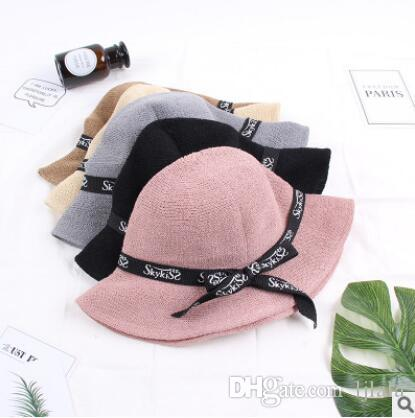 f9d783b6011 Hat Autumn Small Incense Fold Line Weaving Fisherman Hat Fashion Ladies  Concave Style Caps Fashion Accessories Baseball Cap Hat Outdoor Online with  ...
