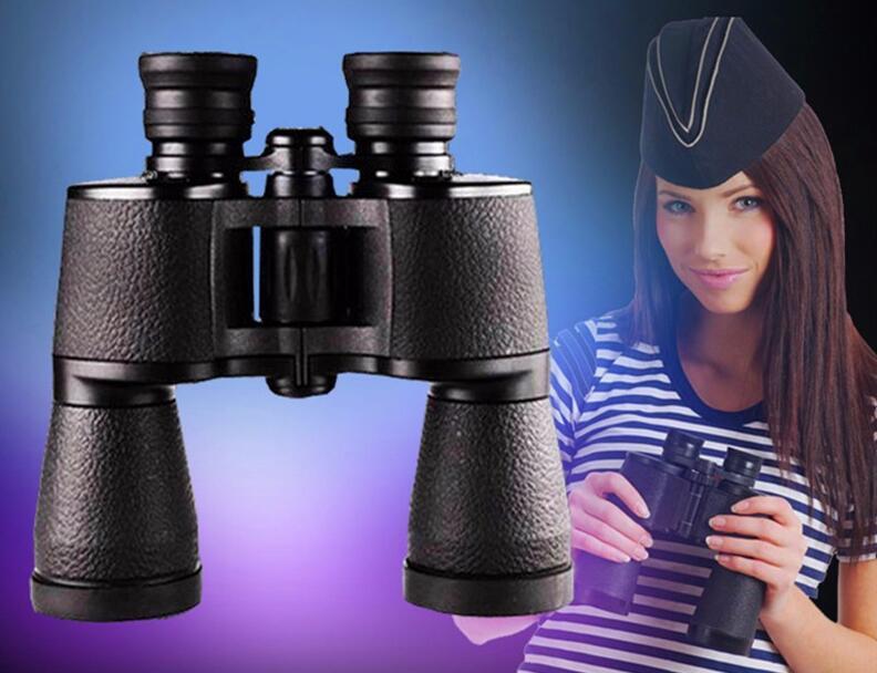 Marca russa Binóculos 20x50 Hd Poderoso Binocular Alta Vezes Telescópio Zoom Lll Night Vision Para Caça Camping Frete Grátis